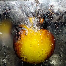 apple in water by LADOCKi Elvira - Food & Drink Fruits & Vegetables ( fruits )