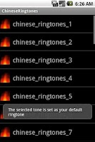 Screenshot of ChineseRingtones