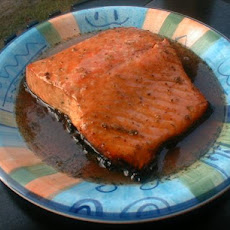 Grilled Glazed Salmon