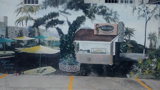 Mural El Bigotes