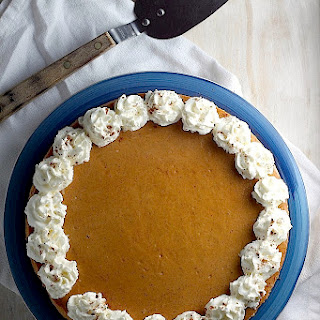 Creamy Greek Yogurt Pumpkin Cheesecake