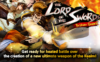 Screenshot of The Lord of the Swords