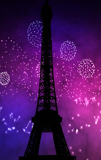 3D Fireworks Live Wallpaper - screenshot