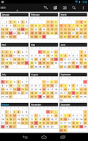 Screenshot of Business Calendar
