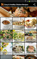 Screenshot of Easy & Healthy Chicken Recipes