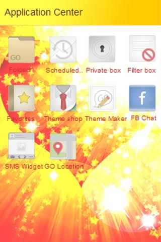 GO SMS Warm Heart Love Theme