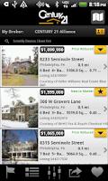 Screenshot of CENTURY 21 Real Estate Mobile