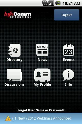 InfoComm International App