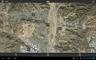 Screenshot of LiveView GPS Tracking Utility