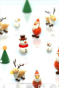 Mini Santa LiveWallpaper Trial - screenshot
