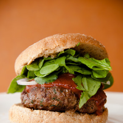 Lamb Burger Recipe with Chocolate