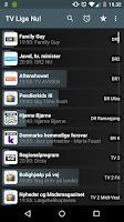 Screenshot of TV Lige Nu! Pro