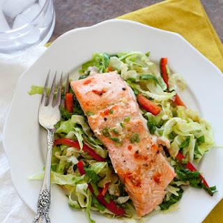Salmon Cabbage Salad Recipes