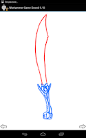 Screenshot of How to Draw: Cold Steel Arms