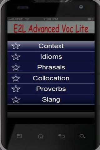 E2L Advanced Vocab Lite