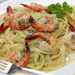 Slow Cooker Shrimp Scampi