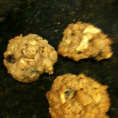 Oatmeal Apple Raisin Cookies