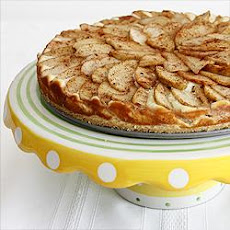 Bavarian Apple Cheese Cake Tart