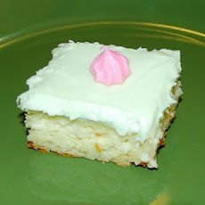 Lemon Coconut Bars With Cream Cheese Frosting