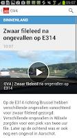 Screenshot of GVA - Gazet van Antwerpen