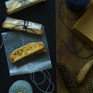 Citrus, Cranberry and Hazelnut Biscotti