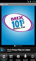 Screenshot of MIX 101.5 - WRAL-FM