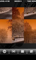 Screenshot of Snow Landscape - PuzzleBox