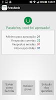Screenshot of Simulado Detran-SP