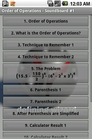 Math Tutoring Lessons 1