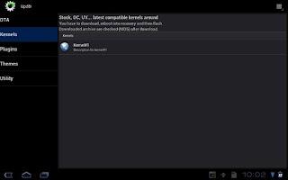 Screenshot of Upd8r