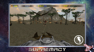 Screenshot of Supremacy. 3D space warfare.
