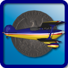 Coin Flight Retro icon
