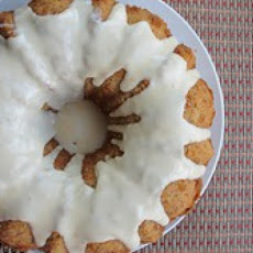 Rum Glazed Banana Bundt Cake