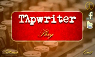 Screenshot of Tapwriter