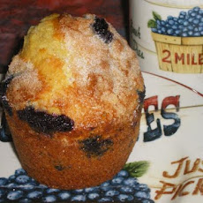 Blueberries and Orange Muffins