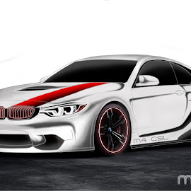 by Mone Ehlers - Painting All Painting ( motoring, cars, bmw )