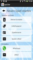 Screenshot of quiZZer - Wer weiß mehr?
