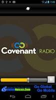 Screenshot of Covenant Radio