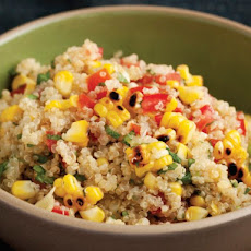Cook the Book: Grilled Corn and Quinoa Salad