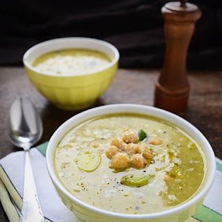 Chickpea and Leek Soup