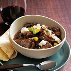 Slow-Braised Red Chile Beef