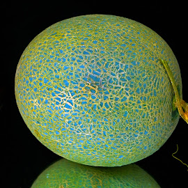 The melon with body graphics by Asif Bora - Food & Drink Fruits & Vegetables