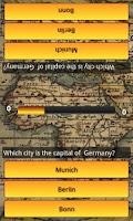Screenshot of World Capitals Quiz Trivia
