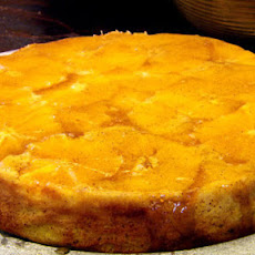 Orange Polenta Cake With Clove And Orange Caramel