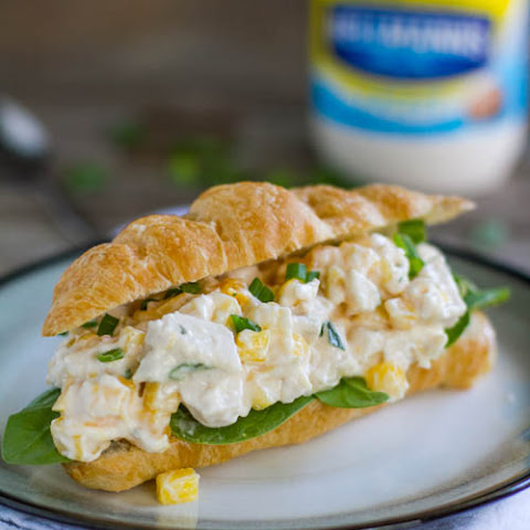 Mango Chicken Salad Sandwich