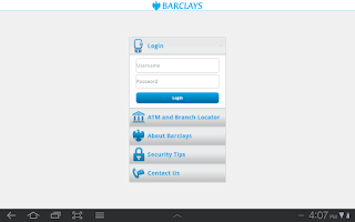 Screenshot of Barclays Ghana