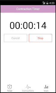 Contraction Timer - screenshot