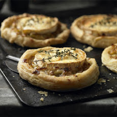 Leek & Goat's Cheese Tartlets