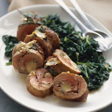 Pork Involtini with Spinach