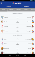 Screenshot of Liga BBVA